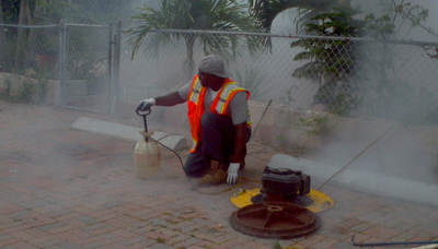 pipe smoke testing