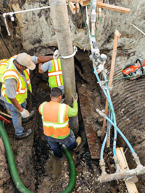 Hydro Excavation Soft Dig