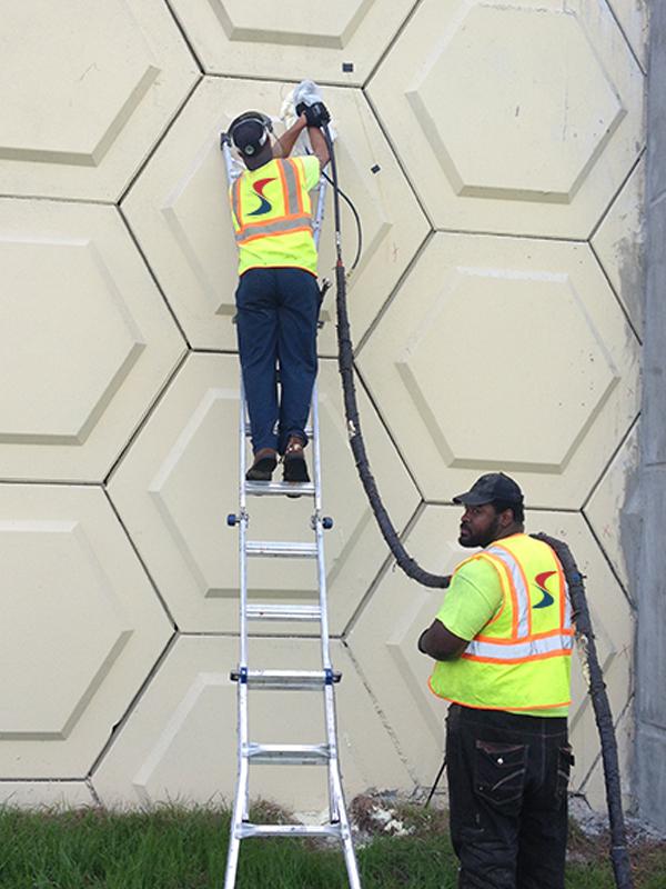 Mechanically Stabilized Earth Wall Restoration