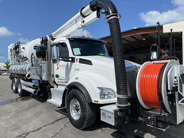 Jet Vac Pipe Cleaning and Inspection