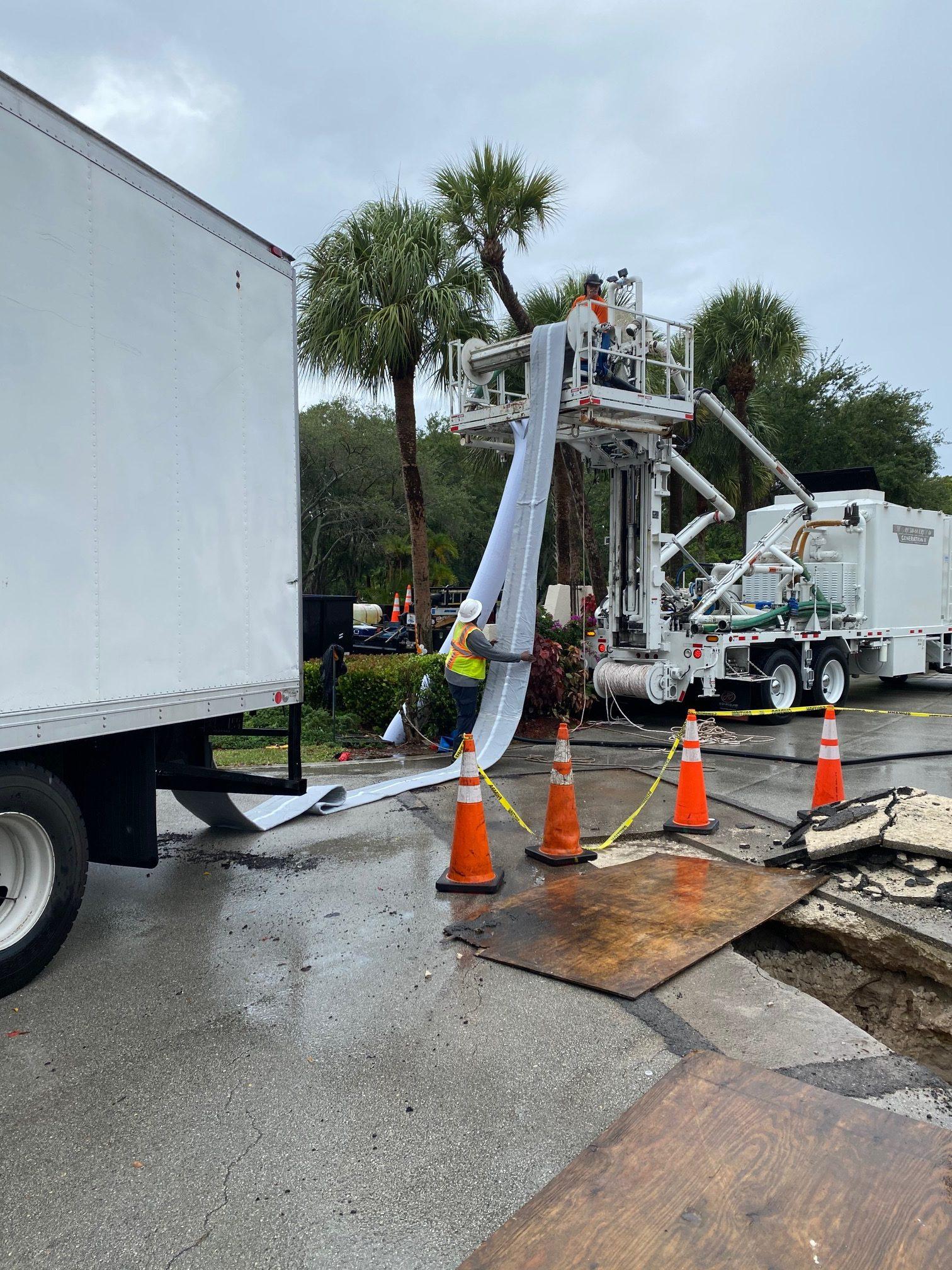 Trenchless Pipeline Repair