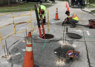 Roadway & Manhole Leveling & Stabilization New Port Richey Shenandoah 20212505-2