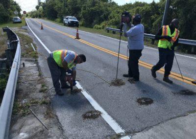 Roadway Sinkhole Void Restoration & Stabilization Hillsborough County 20212305